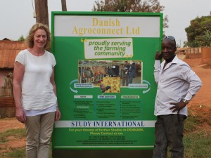 Lean Farming and Danish Agroconnect Ltd are working together in Uganda