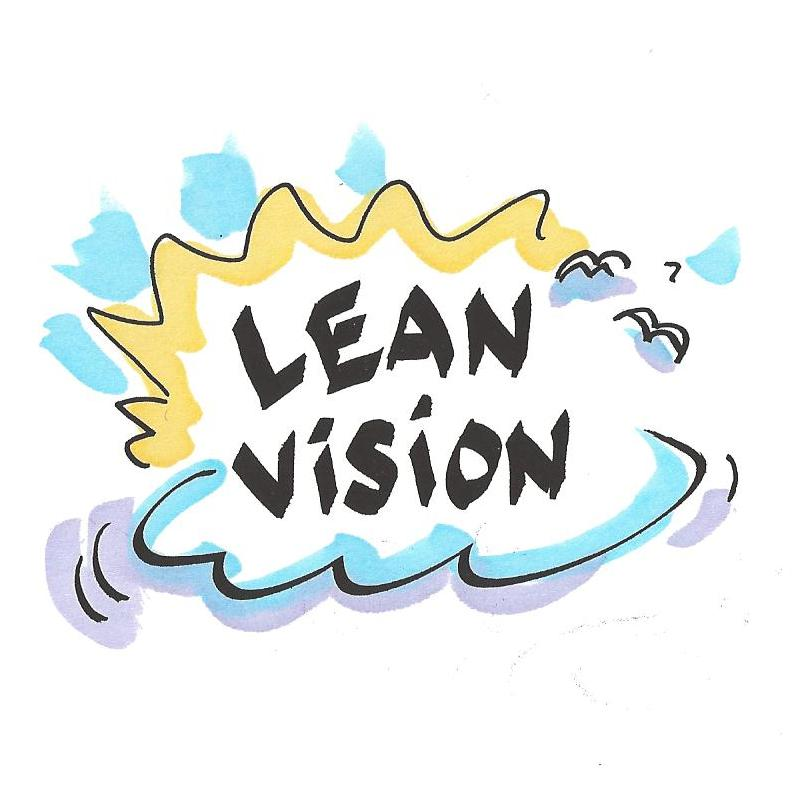 Lean Vision drawn by Claus Bekker for the book Lean in Agriculture By Susanne Pejstrup and Vibeke Fladkjaer Nielsen