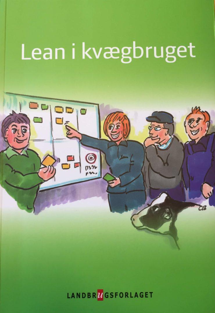 Lean i Kvægbruget er en bog, der enkelt og let fortæller om, hvordan Lean kan bruget i mælkeproduktion
