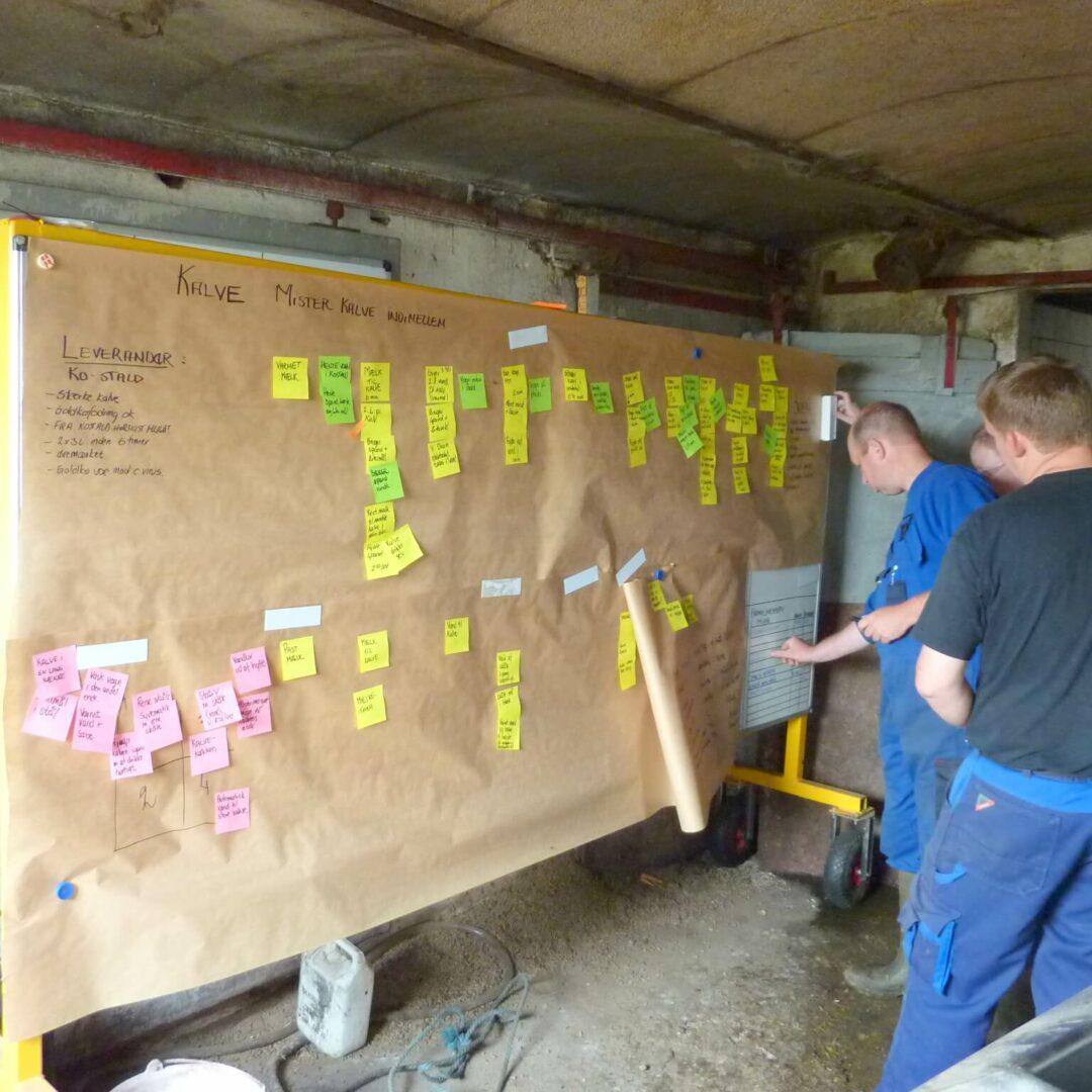 Lean Farming facilitate a training in Value Stream Mapping